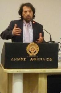 Βασίλειος Λ. Κωνσταντινόπουλος, ο νέος πρόεδρος του Φιλολογικού Συλλόγου Παρνασσός
