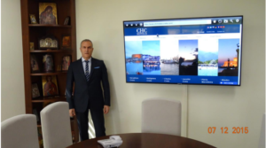 Ζαχαρίας Χνάρης Ιδρυτής και Διευθύνων Σύμβουλος του Ομίλου CHC – Chnaris Hotel Management, Development & Consulting S.A.