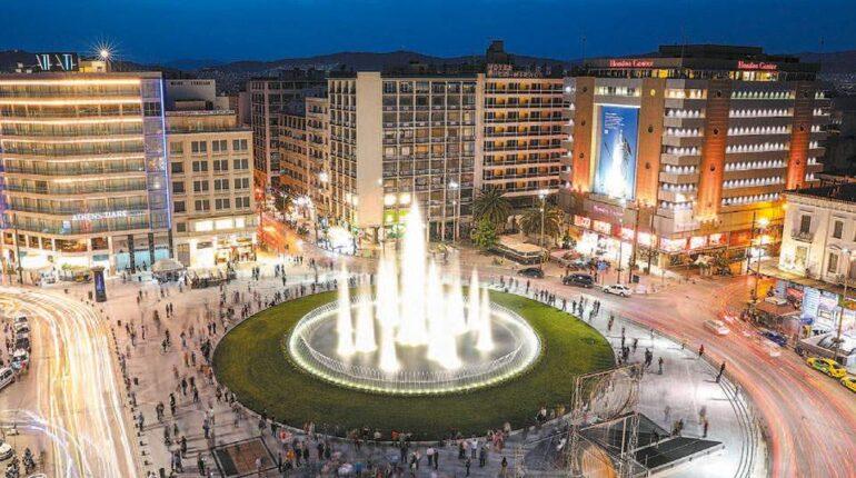 Στους Αθηναίους η αναμορφωμένη πλατεία Ομονοίας